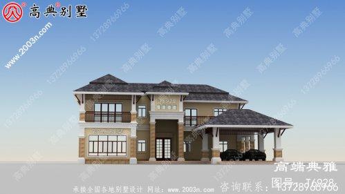 农村二楼小别墅照片,二楼别墅效果图与设计图