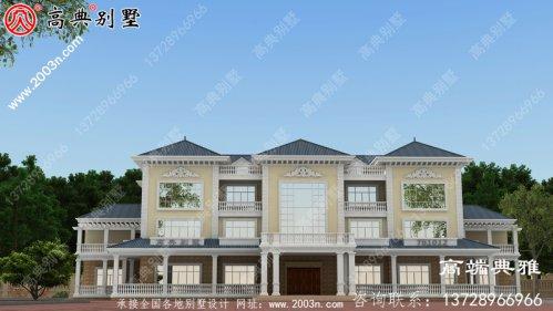 三层新农村住宅房屋设计图,温暖