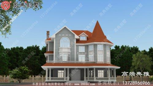 三层房屋设计图 ,古香古色又无
