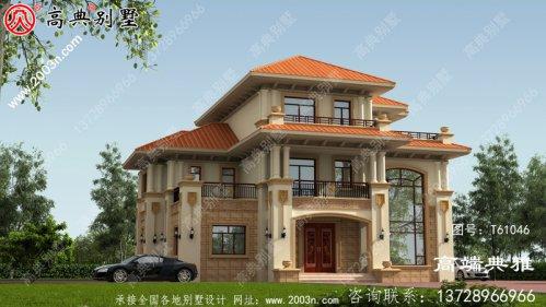 三楼复式别墅设计方案,设计图