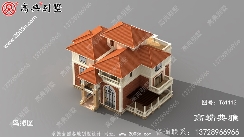 最新款奢华四层别墅设计图纸,奢华空气
