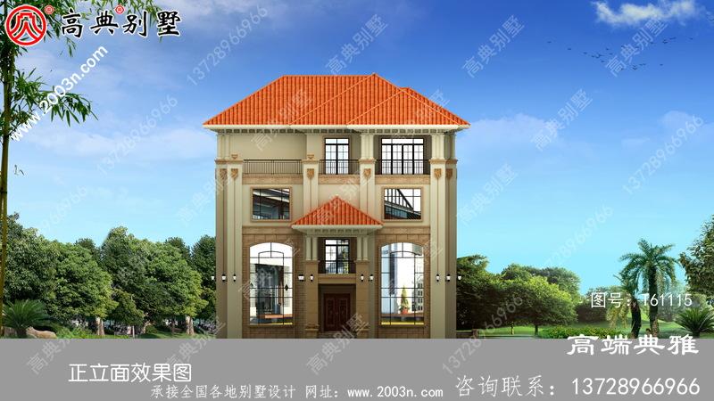 新豪华四层别墅设计图纸,客厅中空复式,豪华大气
