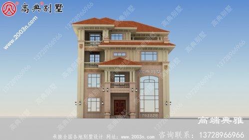 别墅设计方案全集,四层别墅设计