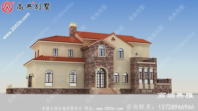 农村别墅设计图小户型房子,经济美观