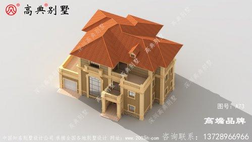 三层欧式自建别墅的布局非常完美