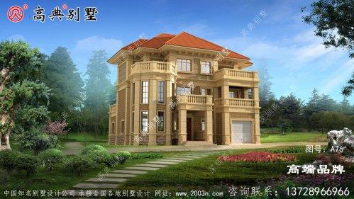 别墅设计图,外观美观