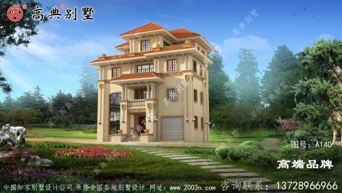 四层欧式别墅设计图片