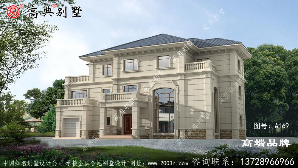 复式三层自建别墅设计图