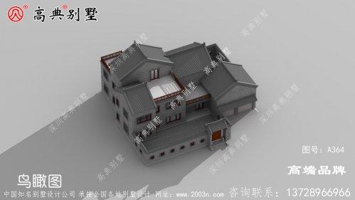 新中式别墅设计图纸