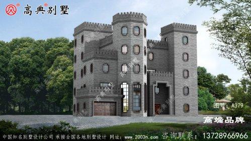 豪华五层别墅设计
