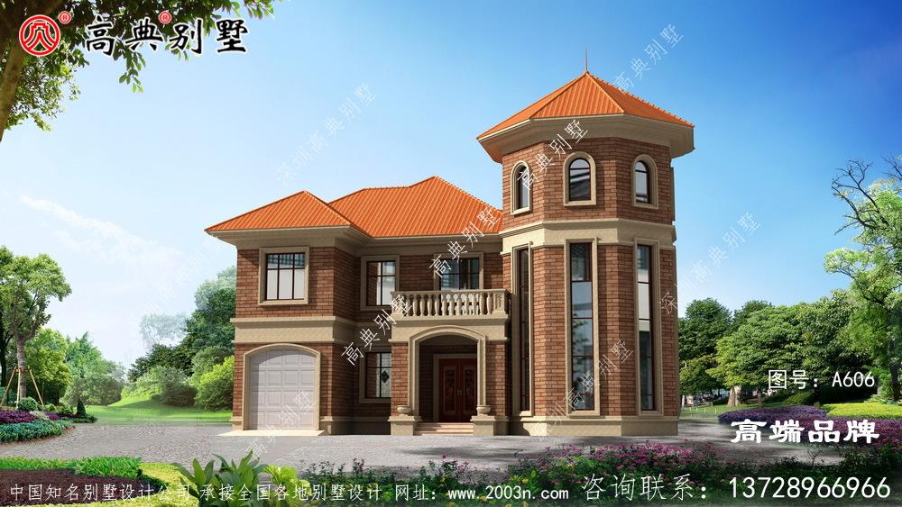 欧式风格别墅自建设计图
