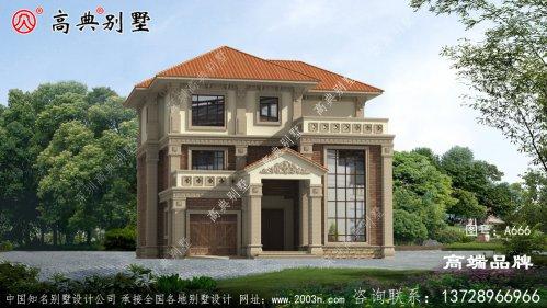 中式别墅设计图纸