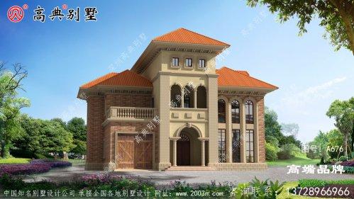 精典三层欧式风格建造别墅设计