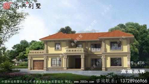 中式别墅二层图片