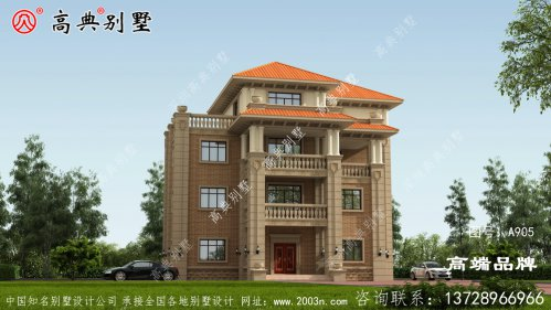 四层房屋设计图