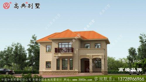 乡村二层别墅设计图