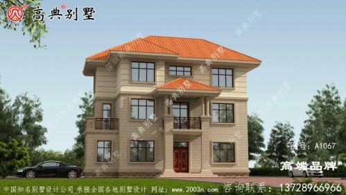 农村三层别墅设计图