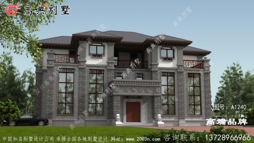 中式三层别墅设计图纸