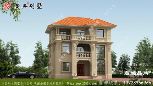 别墅欧式设计效果图
