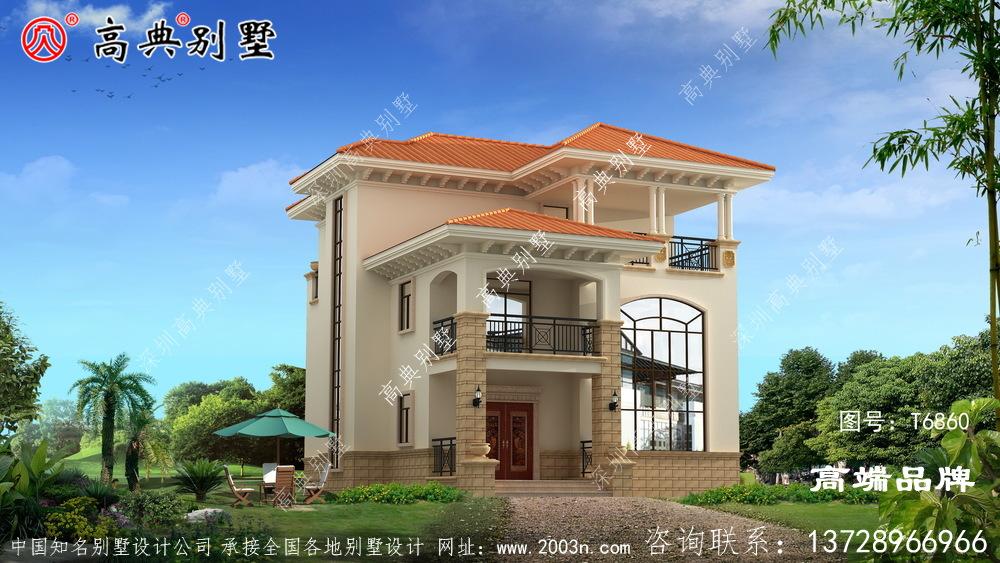 欧式风格别墅外观设计