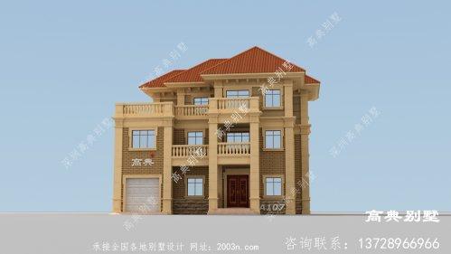 农村欧式住宅施工图设计