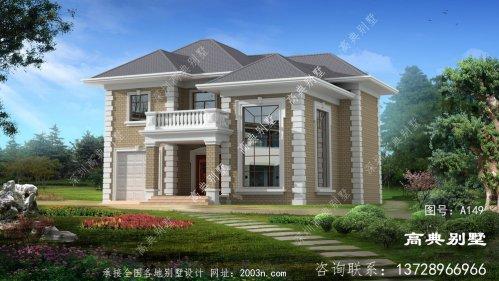 农村二楼豪华建筑设计图