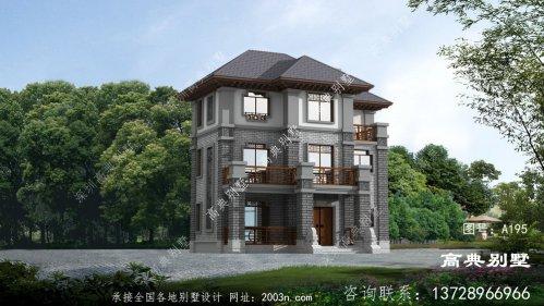 儒雅气质中式风格自建别墅