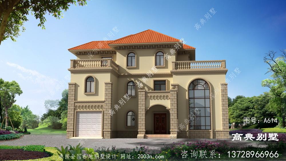 大户型三层别墅设计方案