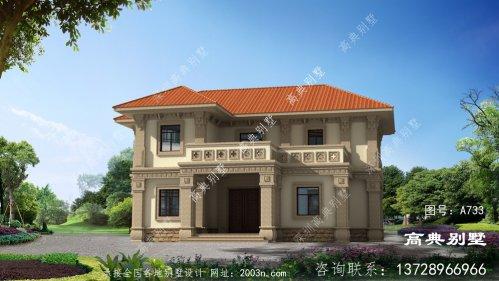 欧式风格二层别墅怎样建才经典大气?