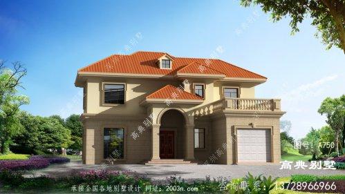 两层别墅自建房屋设计图纸