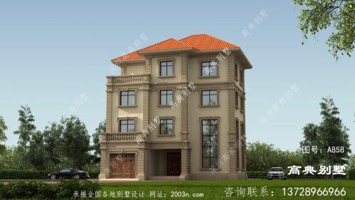 四层复式豪宅别墅设计图片