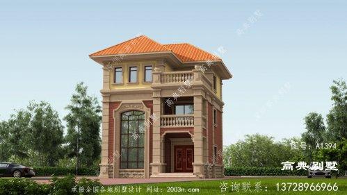 三层复式别墅自建设计图