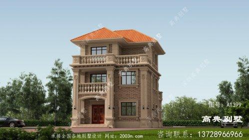 理想的别墅,当然是少不了飘窗和阳台啦