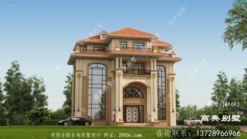 欧式优雅气质四层复式别墅设计效