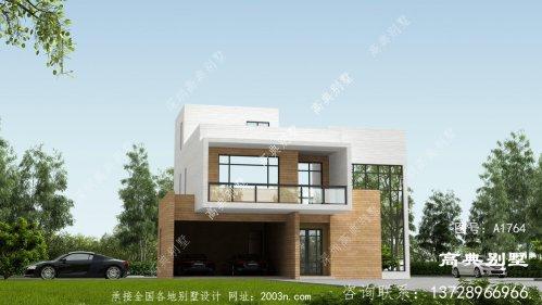 非常的舒适现代风格平屋顶别墅