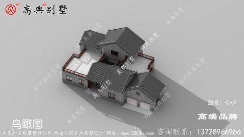 户型经典的中式风格别墅