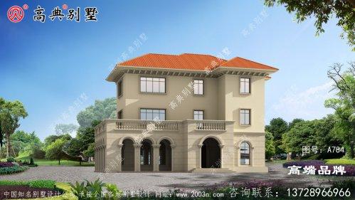 时尚三层别墅设计
