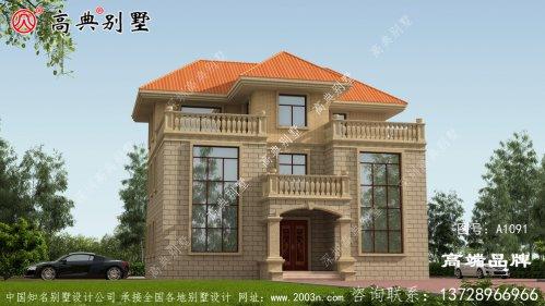 简约农村欧式别墅设计图