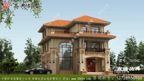 三层高级私人别墅设计图纸