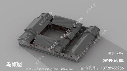 中国古典庭院效果图