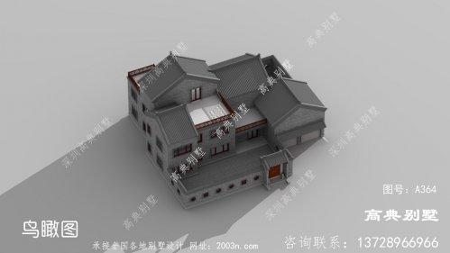 高贵又典雅的三层别墅设计图纸