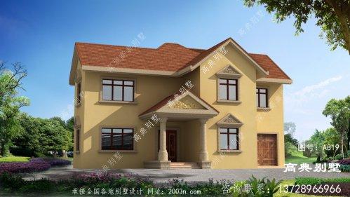 二层乡村经典自建别墅设计