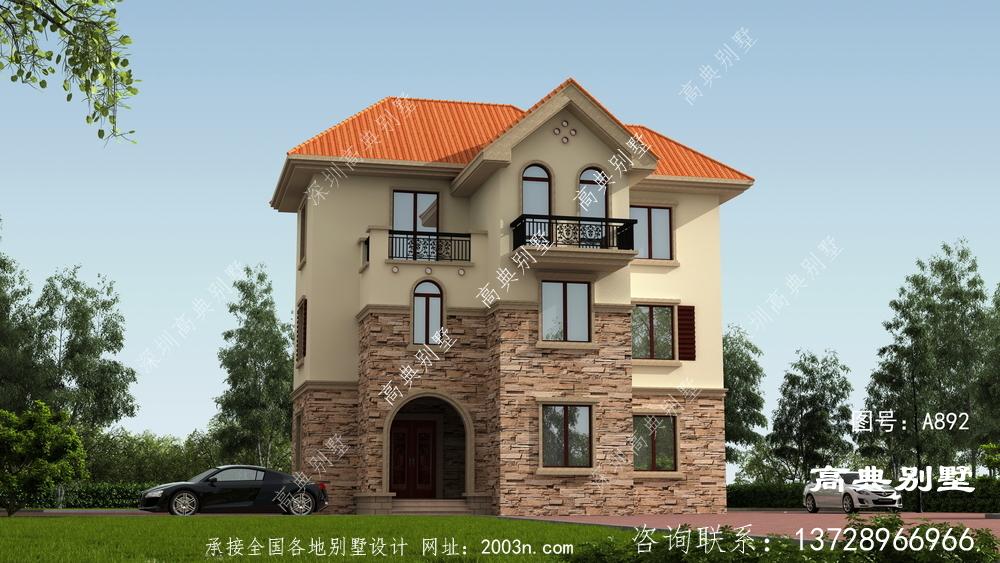 优雅大方的三层别墅设计图