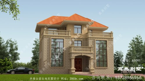 外型低调奢华的别墅设计图纸