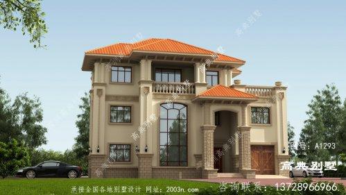 时尚潮流的三层别墅设计图