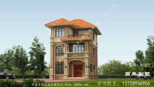 经典别墅,外观和布局都深得人心