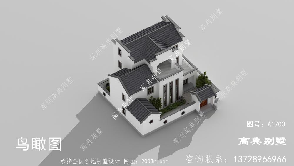 实惠的中式风格别墅