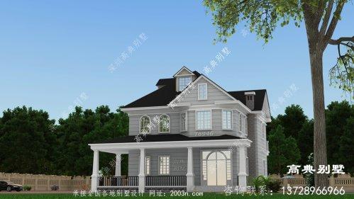 现代简欧风格二层别墅设计图纸