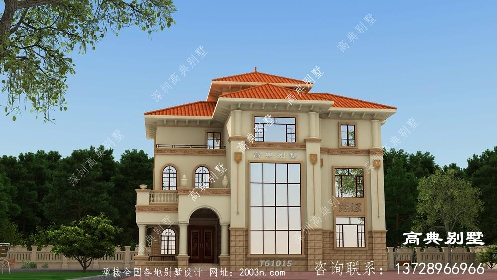 想要精致不一样的欧式别墅这样建