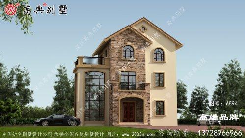 你要想建一栋让人一眼惊艳的小别墅建筑?